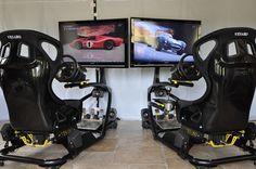 Multiplayer Racing Simulator Hire