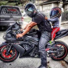 Motorcycles, bikers and Motorcycle Baby, Motorcycle Couple, Motorcycle Style, Biker Style, Motorcycle Quotes, Biker Couple, Biker Love, Bike Photography, Biker Gear