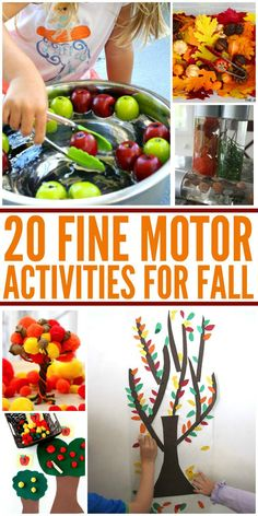 Fall Fine Motor Activities | The Jenny Evolution