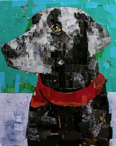 Healthy recipes for dinner with kids free Collage Portrait, Collage Artwork, Mixed Media Collage, Collage Ideas, Collage Artists, Dog Quilts, Animal Quilts, 7th Grade Art, Paint Your Pet