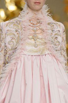 Rococo Inspired ~    Details of Guo Pei Spring/Summer...2016  Femmine inessence www.aromatiqueessentials.com.au