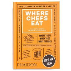 The essential bar book anthropologie anthrofave pop phaidon where chefs eat a guide to chefs favorite restaurants solutioingenieria Image collections
