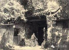 铅笔下的老北京胡同,像诗一样美!