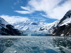 Which type of ice causes a rise in sea level when it melts: glaciers, icebergs, or both?