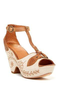 Vista Platform Sandal by ARIAT on @HauteLook
