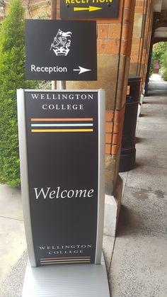 Wellington College, School Signs, Reception, Drinks, Outdoor Decor, Modern, Drinking, Beverages, Trendy Tree