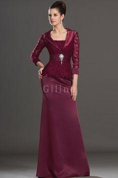35849ea17a vestido elegante de encaje4 Vestidos De Fiesta Para Señoras Mayores