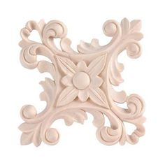 Legacy Signature 5 Inch Floral Cross Applique will bring a decorative accent to mantels, walls, molding, and more. Wooden Corbels, Medieval Furniture, Wood Appliques, House Trim, Fireplace Mantels, Repurposed Furniture, Furniture Makeover, Architecture, Hand Carved