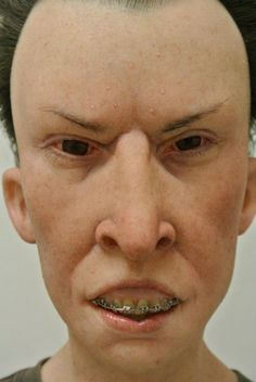 An artist created lifelike sculptures of Beavis and Butthead. The horror.