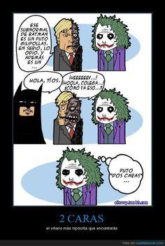 El verdadero peligro del Dos Caras #Batman