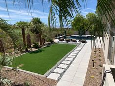 Gorgeous area for our clients to use with their family and friends. Using Everlast 90oz Tacoma is our go to material when installing artificial turf.