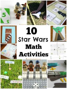 Check out these 10 Star Wars math activities!