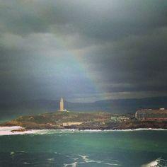 #arcoiris #coruña #torresehercules