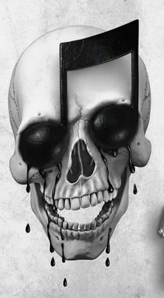 #Caveira ☆ #Música ☆ #Ilusão † A Music Skull Illusion ☆                                                                                                                                                      More