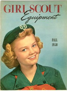 Girl Scout History - Catalogs and Calendars - circa 1950's