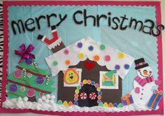 christmas bulltin board