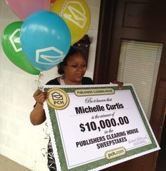 Michelle Curtis of New York is PCH's newest winner! Yayyyy for Michelle (Smiles)