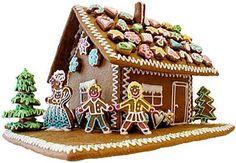 Super cute gingerbread house & gingerbread boy gingerbread girl