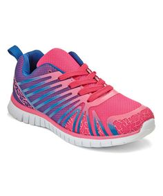 Love this Fuchsia Ombré Sneakers on #zulily! #zulilyfinds