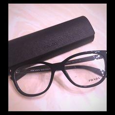 Prada eyeglasses reading glasses frame only brand new 100% authentic Prada Accessories Glasses