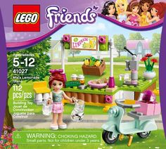 LEGO Friends Mia's Lemonade Stand (41027)