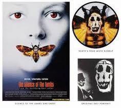 """La locandina del famoso psycho-thriller """"Il silenzio degli innocenti"""", di Jonathan Demme, a prima vista è soltanto l'immagine ..."""