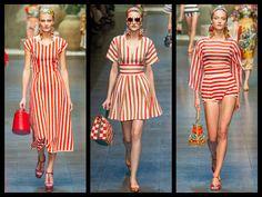 LA CARABA EN BICICLETA...: RAYAS Designer Dresses, Shoulder Dress, Dress Designs, Sailing, Outfits, Vintage, Style, Fashion, Vestidos