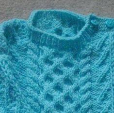 d2a014f26 Gavin baby and toddler aran sweater PDF knitting pattern