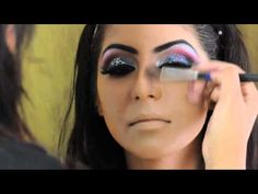 Arabic / Pakistan Wedding Makeup Tutorial, Golden, Marsala, Purple - YouTube