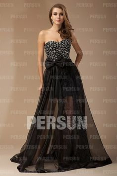 REGISTER ON PERSUNMALL.COM A-line Sweetheart Beading Pleats Bow Organza Evening Dress