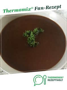 aromatische dunkle Bratensoße/Bratensauce - Thermomix - aromatische dunkle Bratensoße/Bratensauce aromatic dark gravy / gravy from bunbury. A Thermomix ® recipe from the Basic Recipes category on www.de, the Thermomix ® Community. Authentic Mexican Recipes, Mexican Salsa Recipes, Greek Recipes, Baby Food Recipes, Mexican Food Recipes, Chicken Recipes, French Recipes, Restaurant Salsa, Creamy Garlic Sauce