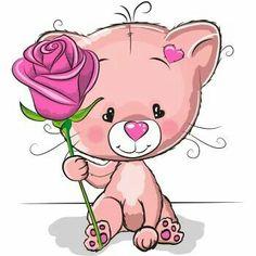 Imagens, fotos stock e vetores similares de Cute Cartoon Fox with flowers on a white background - 1178502295 Tatty Teddy, Kitten Cartoon, Cute Cartoon, Pictures To Draw, Cute Pictures, Kids Cartoon Characters, Baby Posters, Cat Flowers, Cute Friends