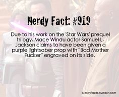 That's just cool as shit..Star Wars/Pulp Fiction crossover... why did they give the black man a grape colored lightsaber though ????