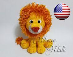 English Pattern - Lion Amigurumi