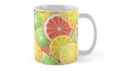 Citrus pattern by Maria-So