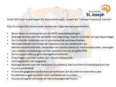 Functieprofiel bij Woonstichting St. Joseph