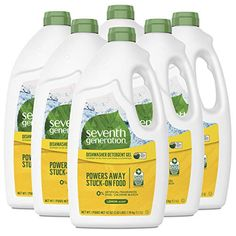 Amazon has the Seventh Generation Dishwasher Detergent Gel with Powerful Citric Acid, Lemon Scent, 42 oz (6 Pack) priced at $28.99. Clip the coupon and check out using Subscribe & Save to get this for only $18.43 with free shipping. Seventh Generation Lemon Dishwasher Detergent Gel advanced cleaning technology cuts through grease leaving dishes streak-free…