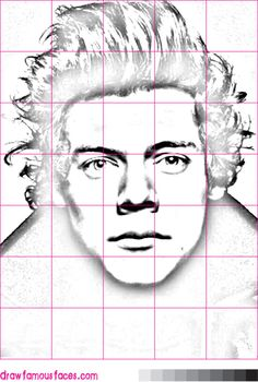 How to Draw Harry Styles Using a Grid