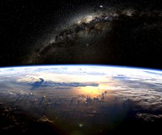 Earth from space.