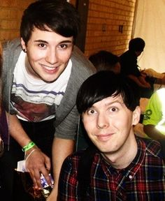 Danisnotonfire amazingphil phil lester dan howell phan // .uploaded by aloneinbali