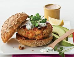Crabcake Burgers with Remoulade Sauce