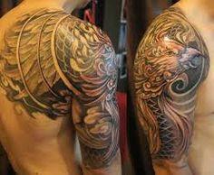 phoenix half sleeve tattoo - Google Search