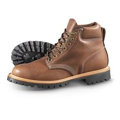 "Men's Carolina® 6"" City Work Boots, Brown"