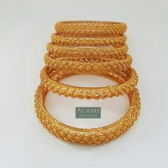 Set of six bangles. Indian jewellery / jewelry. £20. Email alamsjewellers@gmail.com with enquiries. #jewellery #Indianwedding #indian #asian #wedding #taal #gold #imitation Gold Bangles Design, Gold Jewellery Design, Where To Buy Gold, Mens Gold Jewelry, Sell Gold, Gold Bangle Bracelet, Personalized Jewelry, Indian Jewelry, Accessories