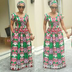 How To Dress to Impress With Ankara Head Wraps And Casuals - Sisi Couture African Dresses For Kids, African Maxi Dresses, Latest African Fashion Dresses, African Print Fashion, African Attire, Ankara Maxi Dress, Ankara Long Gown Styles, African Traditional Dresses, African Women