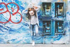 Street fashion фотосессия в Лондоне, Шордич. Одним из моих любимых мест для фотосессии является Шордич – самый колоритный и эксцентричный район Лондона, настоящая колыбель неформального искусства и…