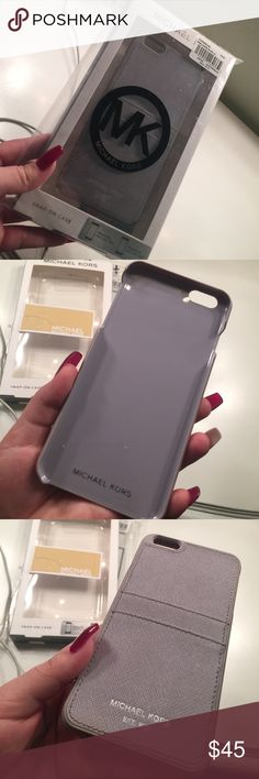 Authentic Michael Kors Case This Is An Authentic Michael Kors Phone Case       Size : iPhone 6plus / 6splus                                    Color : Lilac / Pastel Purple                                     Only Used About 3times Due Too Me Always Changing Cases . Michael Kors Accessories Phone Cases