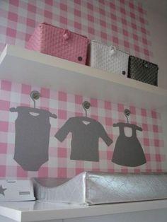 Girls room meisjeskamer babykamer kinderkamer children kids room nursery roze pink