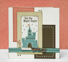 """Let the Magic Begin"" card idea from #CTMH."
