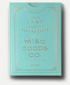 The MGCO 3rd edition deck will feature new colors, typography, icons and artwork…